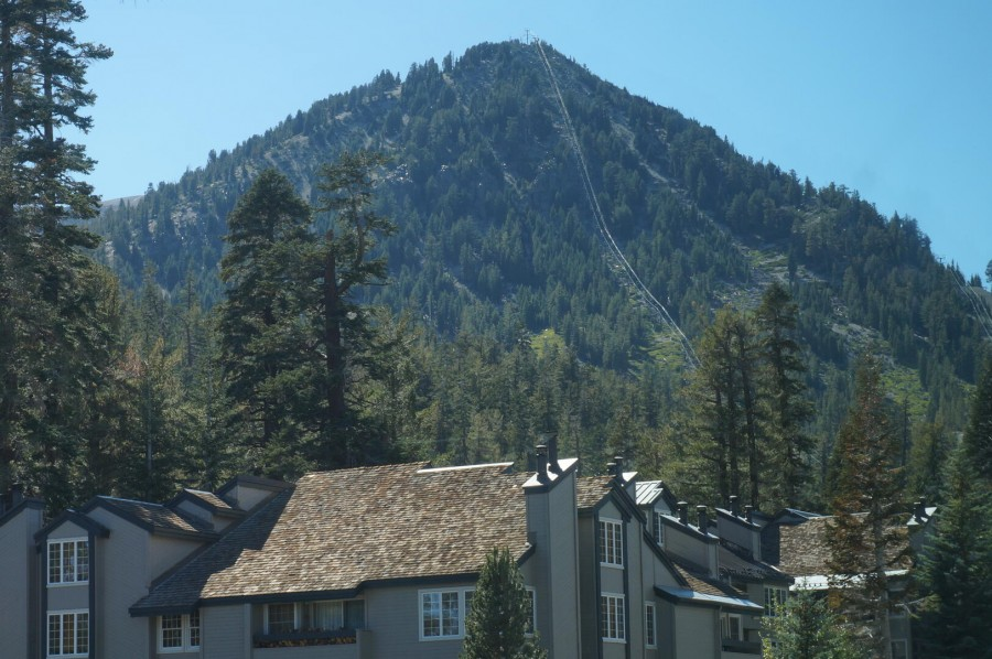 View of Mammoth Mountain