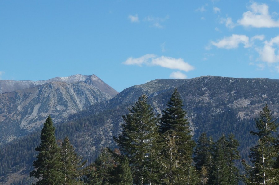 View of Sherwin Mountain Range