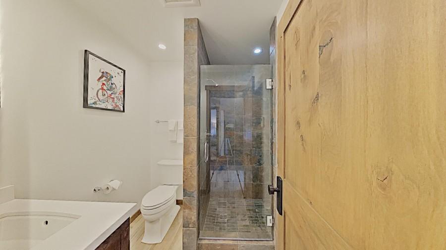 2nd Bathroom With Custom Shower