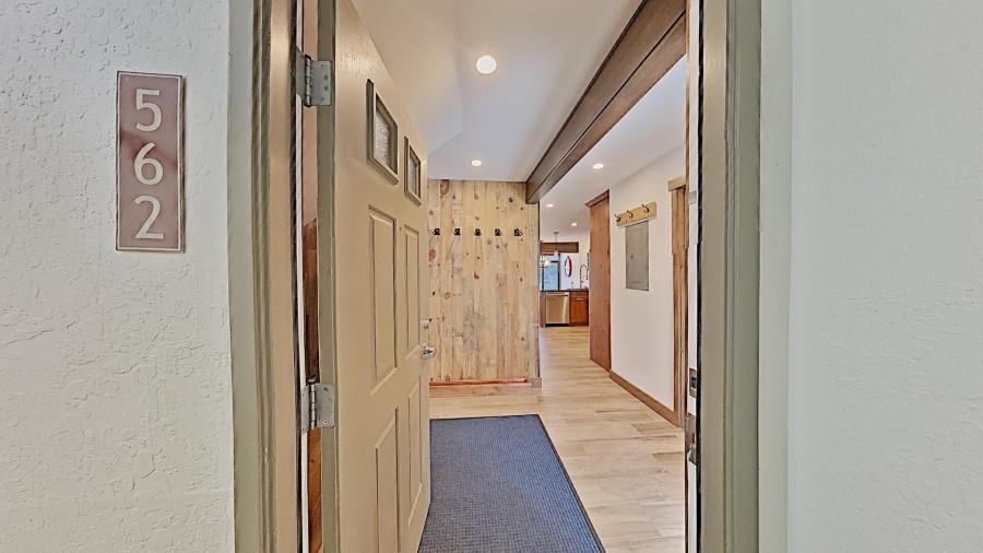 Front Door Into Home