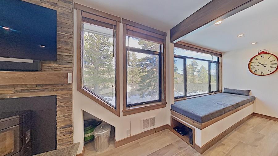 Window Seat For Snow Gazing