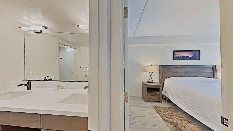 Master Bedroom and Common Area Bath