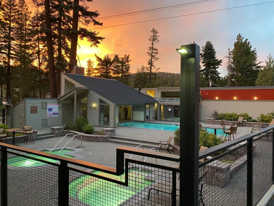 Recreation Area with 3 Spas and Pool