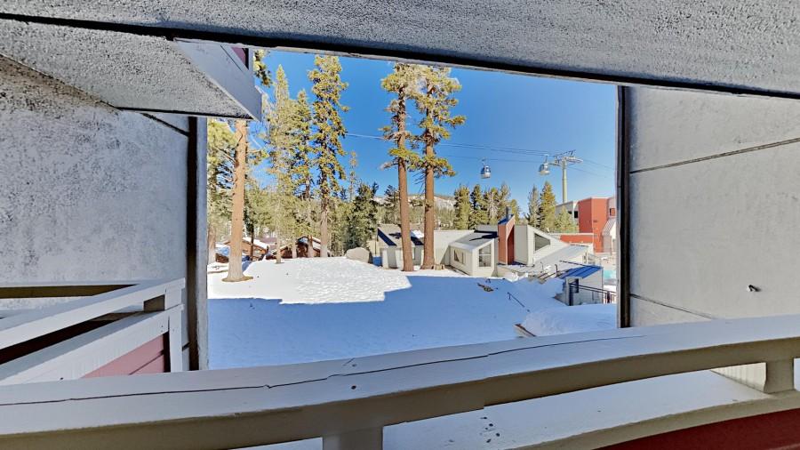 View Of Village Gondola From Front Door