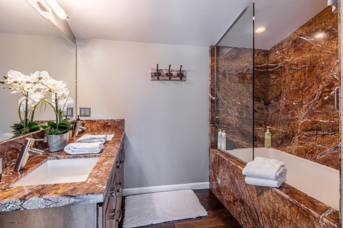 Private Bath in Loft