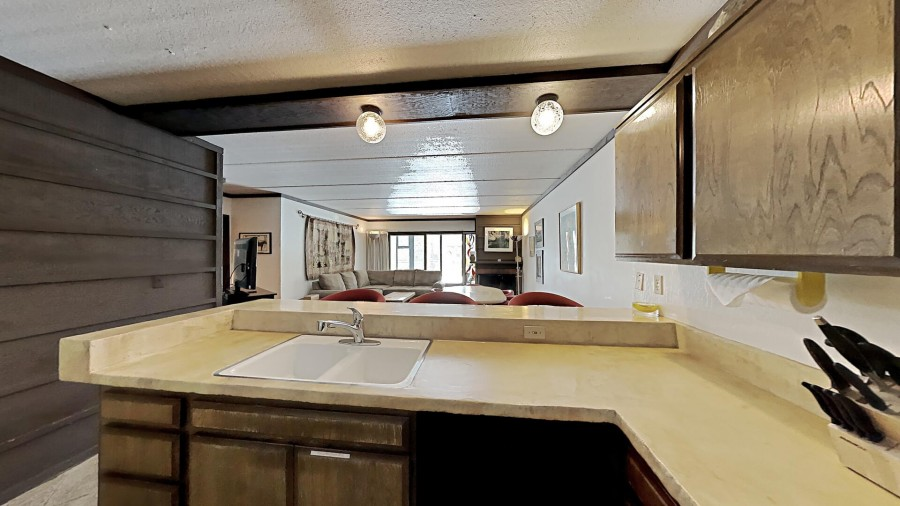 Fully-Equipped, Full-Size Kitchen