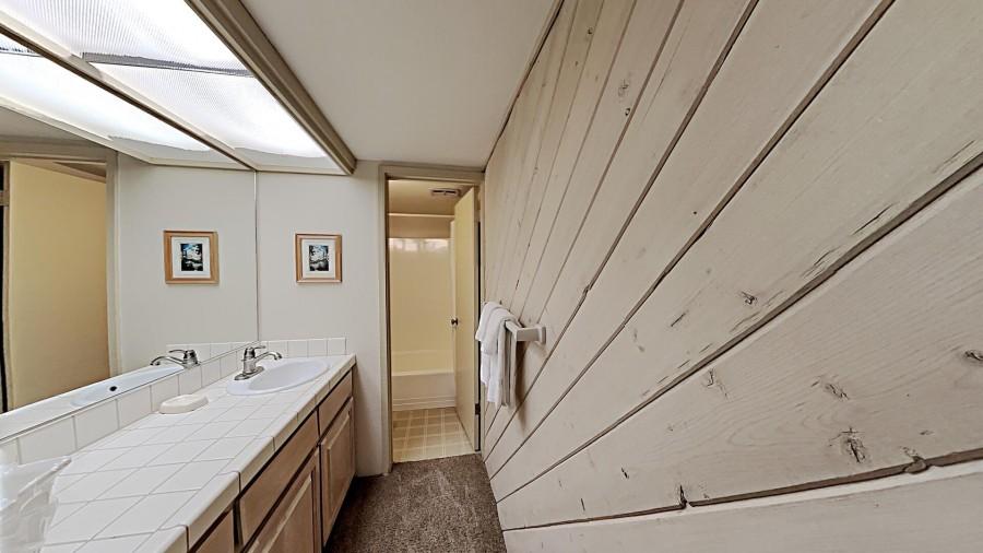 Private Bath In Bedroom 3