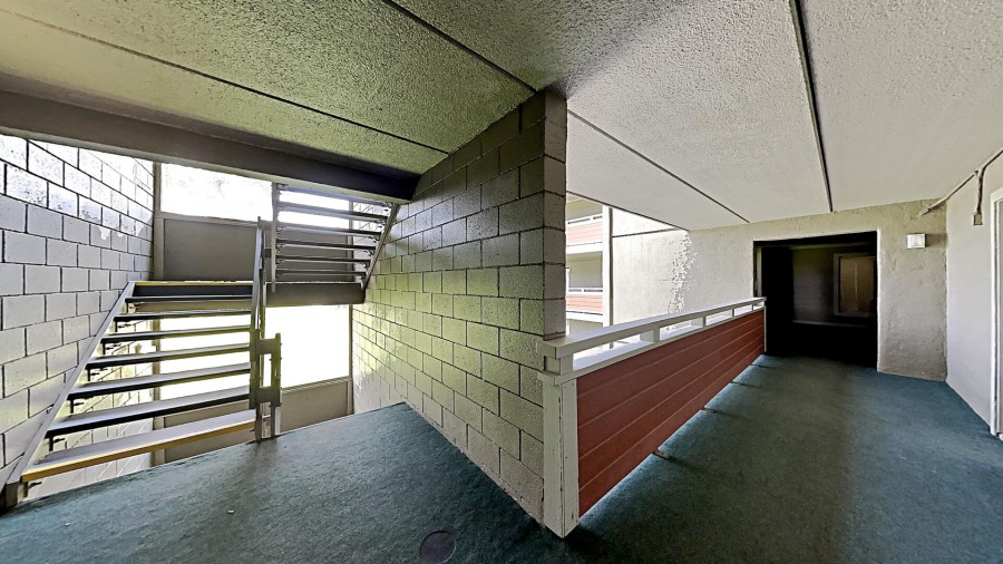 Hallway to Elevator
