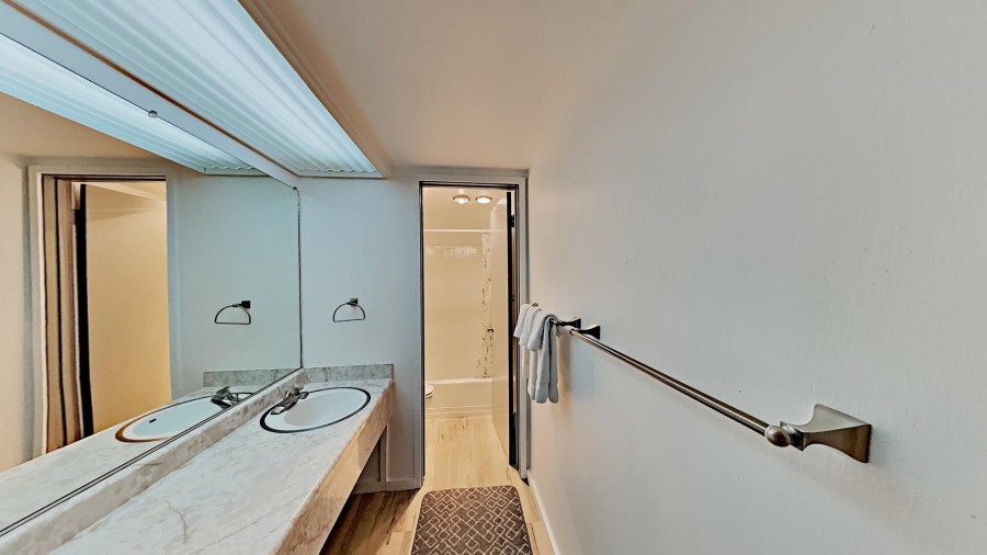 Private 3rd Bath in Bedroom 3