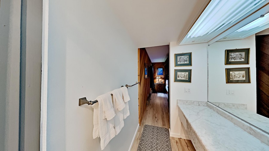 Private Bath in 3rd Bedroom