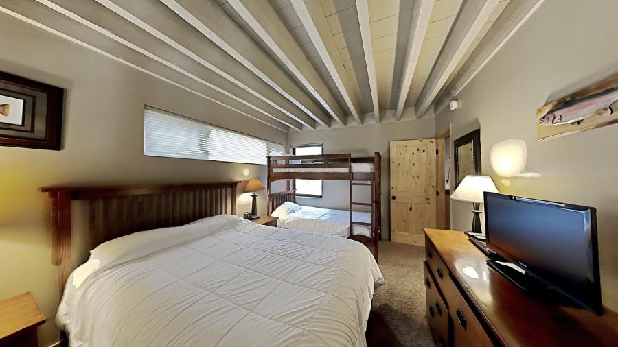 3rd Bedroom Overlooking Main Level