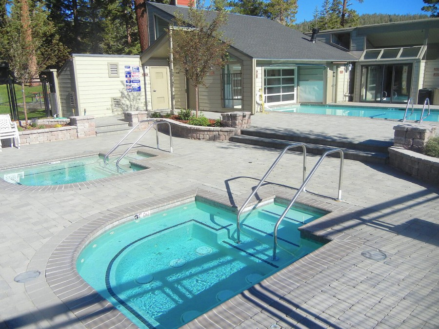 3 Spas, Pool and Sauna