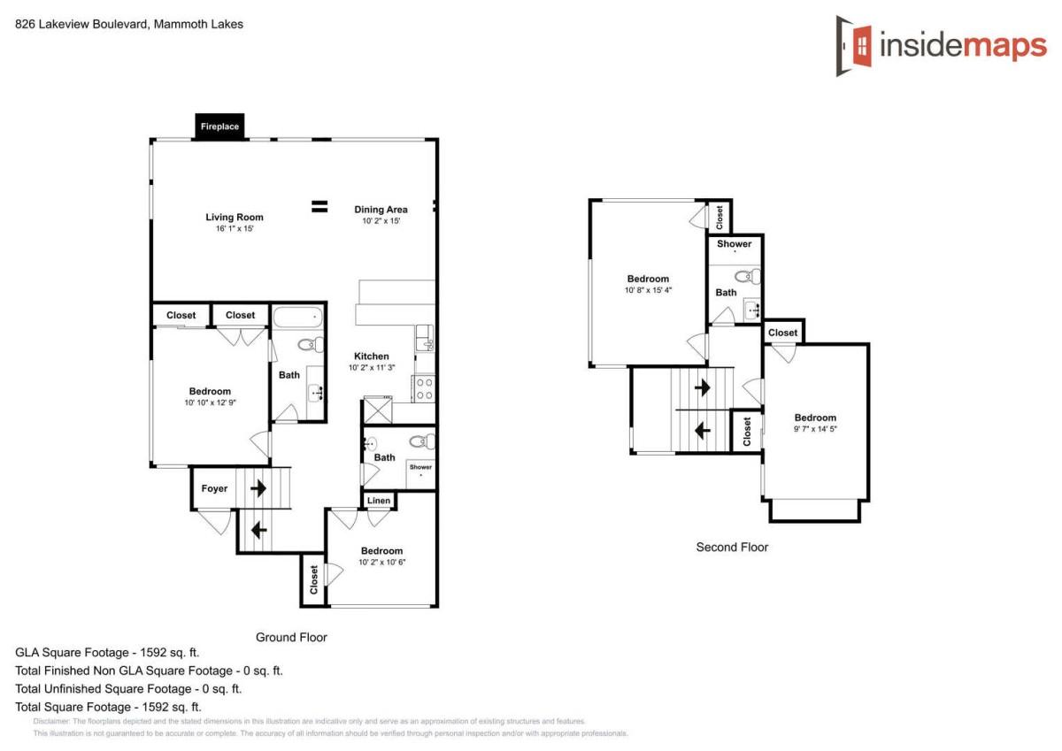 Unit 672 Floor Map