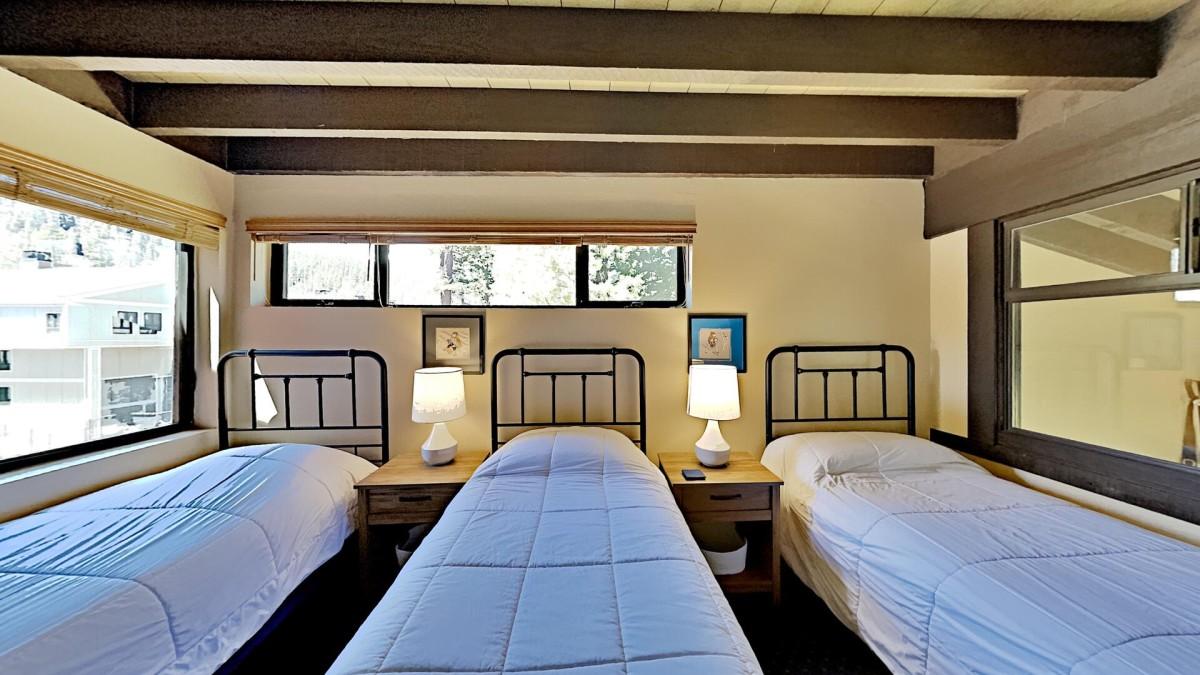 4th Bedroom Overlooking Living Room