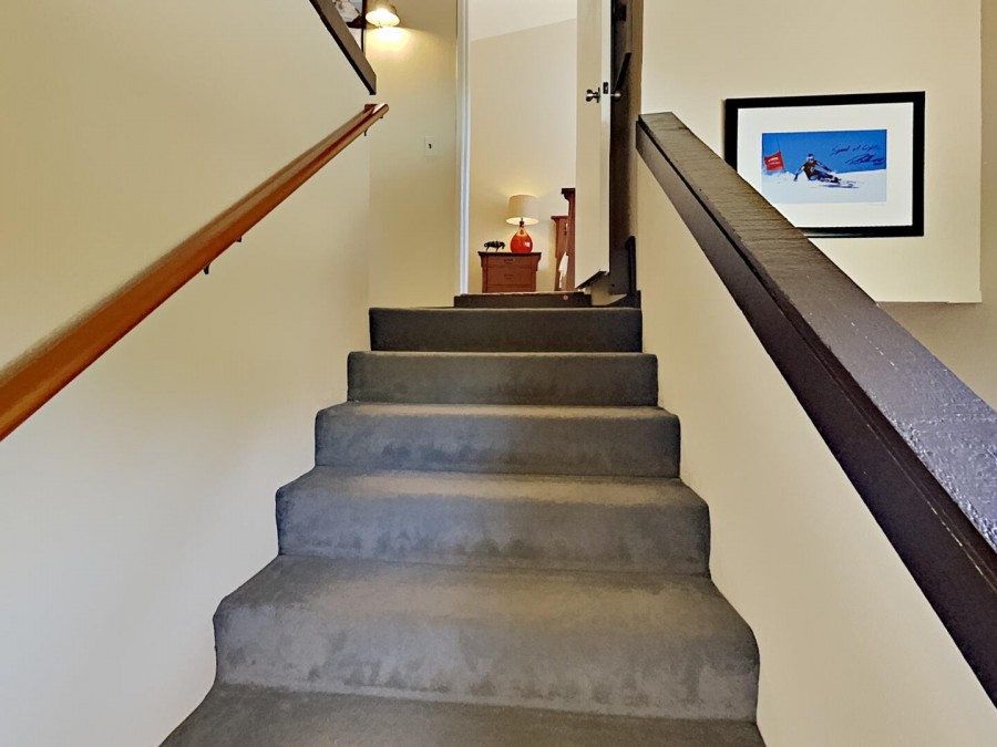 2 Flights of Stairs to Second Floor