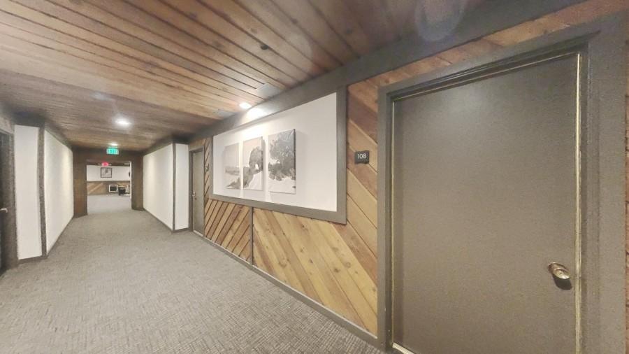 Interior Hallway To Condo