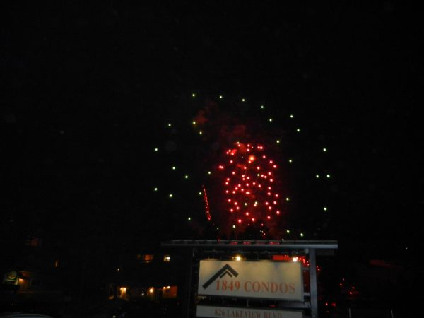 mammoth mountain night of lights fireworks