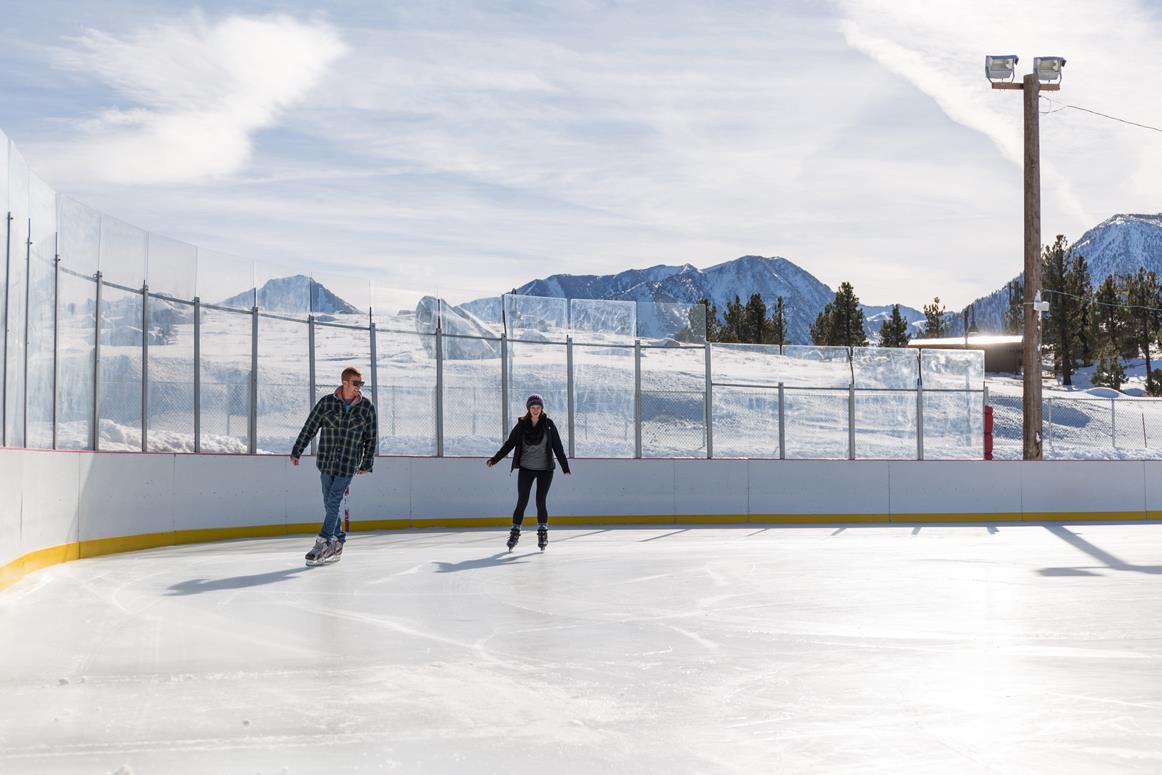 mammoth ice skating || 1849 Mountain Rentals