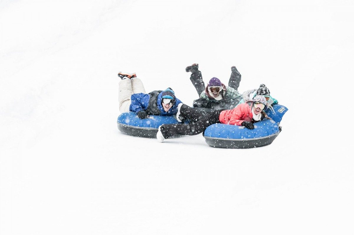 where to go tubing in mammoth mountain