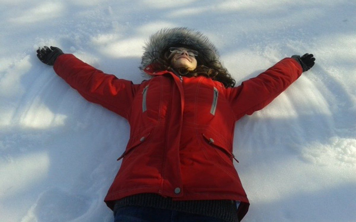 If you don't enjoy the more active winter sports, there's no activity better than making snow angels.