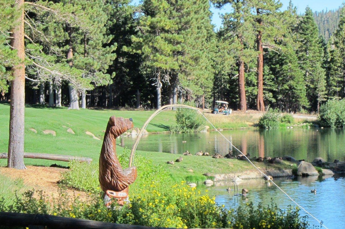 Pond at Sierra Star Golf Course