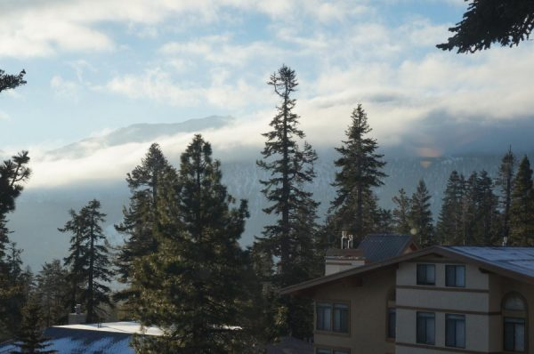 Mammoth vacation rental view