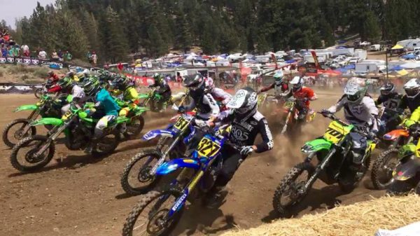 Motocross race in Mammoth California