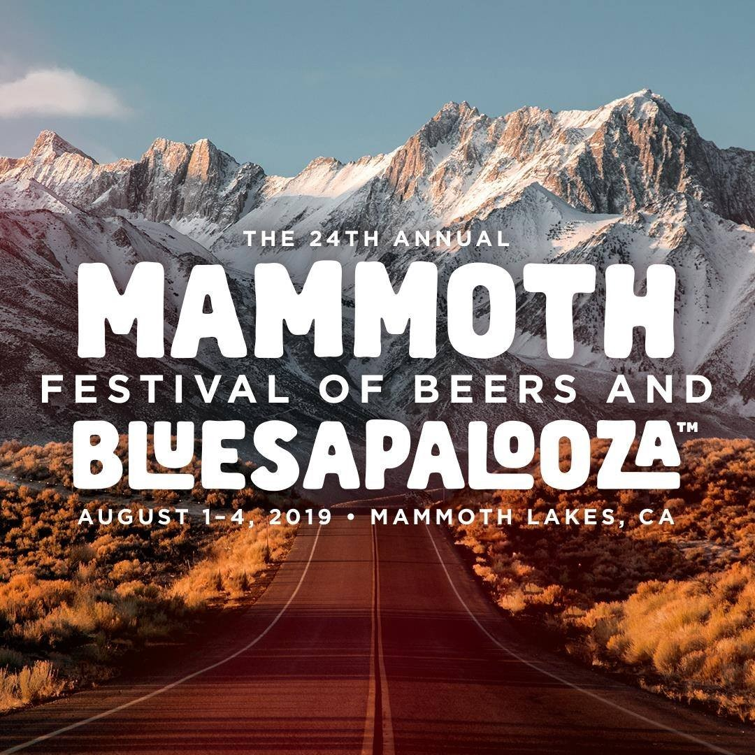 Logo for Mammoth Bluesapalooza
