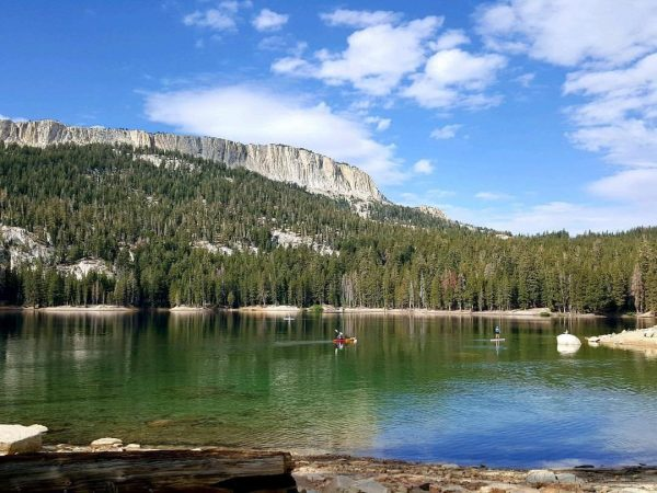 Mammoth Lakes Basin in California