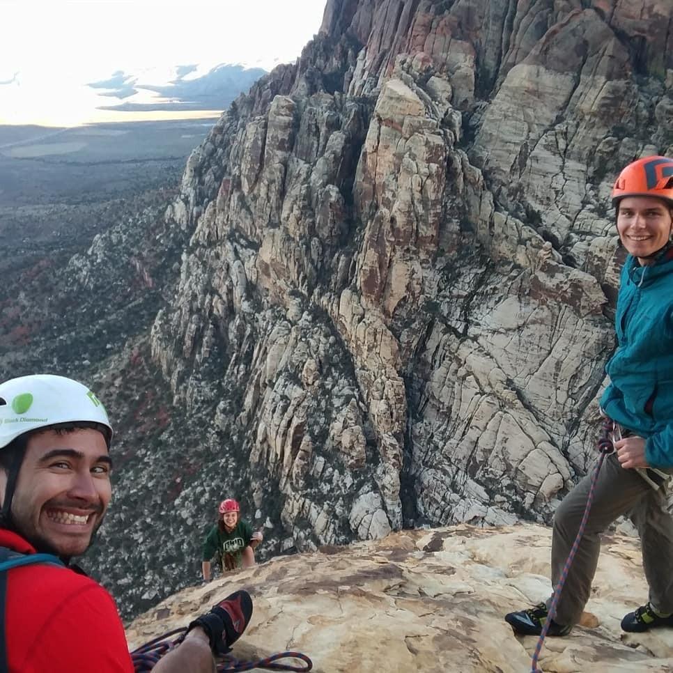 mountaineering on mammoth mountain